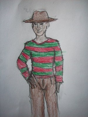 I haven't drawn Freddy in awhile, please bear with me!